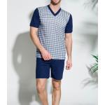 002 Krátké pánské pyžamo ROMAN M-XL – TARO