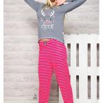 1193 Dámské pyžamo ODA S-M – TARO