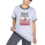 Bavlněné chlapecké pyžamo Free ride