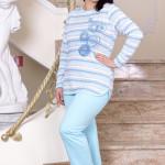 Bavlněné dámské pyžamo Boženka