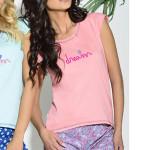Dámské pyžamo Klasic lososové
