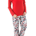 Dámské pyžamo Moraj PDD 3300-003 red