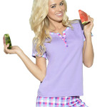 Dámské pyžamo Nika fialové