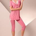 Dámské pyžamo Passion PY030 pink