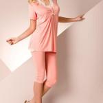 Dámské pyžamo Passion PY031 peach