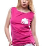 Dámské pyžamo Rose krátké