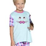 Dětské pyžamo s kočičkou
