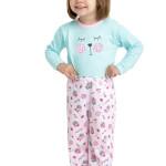 Dívčí pyžamo body a kalhoty