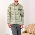Pánské pyžamo Bruno Oto zelené