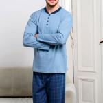 Pánské pyžamo Mateo modré