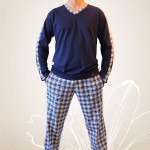 Pánské pyžamo Nelly Robin 1018 DL