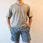 Pánské pyžamo Nelly Tomáš 1019 KR 3XL