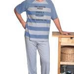 Pruhované pánské pyžamo Prison