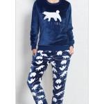 Dámské pyžamo dlouhé Méďa – Vienetta