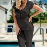 Dámské pyžamo Tania black