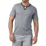 Pánské bavlněné pyžamo Jacob šedé