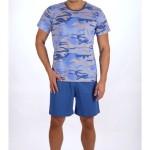 Pánské pyžamo šortky Army – Gazzaz
