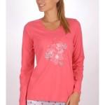 Dámské pyžamo dlouhé Květ