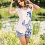 Dámské pyžamo Key LNS 052 A19