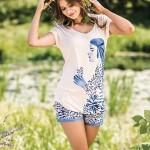 Dámské pyžamo LNS 052 A19