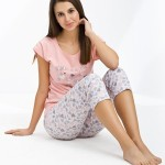 Dámské pyžamo Luna 435 kr/r M-2XL