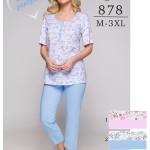 Dámské pyžamo Regina 878 kr/r M-XL