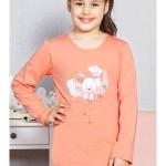 Dětské pyžamo dlouhé Králík malý