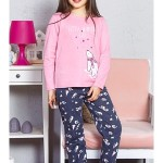 Dětské pyžamo dlouhé Lední medvěd
