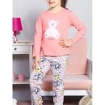 Dětské pyžamo dlouhé Méďa Happy