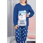 Dětské pyžamo dlouhé Méďa Pirát