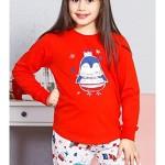 Dětské pyžamo dlouhé Tučňák malý