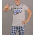 Dětské pyžamo kapri Auto Car
