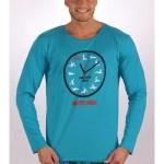Pánské pyžamo dlouhé Kamasutra clock