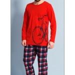 Pánské pyžamo dlouhé Velké kolo – Gazzaz