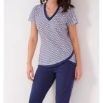 Dámské pyžamo Cana 036 kr/r M-XL