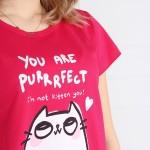 Dámské pyžamo Muzzy Kočička Perfect 9358 kr/r S-L
