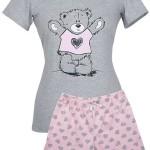 Dámské pyžamo Muzzy Medvídek ve svetříku 4420 kr/r S-XL