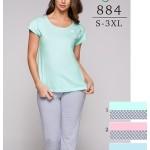 Dámské pyžamo Regina 884 2XL-3XL