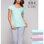 Dámské pyžamo Regina 884 S-XL