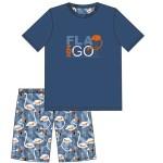 Pánské pyžamo Cornette 326/70 Flamingo kr/r