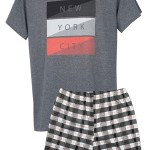 Pánské pyžamo Muzzy Nwe York 7909 kr/r M-2XL