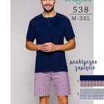 Pánské pyžamo Regina 538 kr/r 2XL-3XL