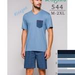 Pánské pyžamo Regina 544 kr/r 2XL