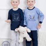 Chlapecké pyžamo 859 dark blue