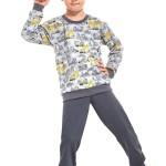 Chlapecké pyžamo Cornette 593/58 98/104 Šedá