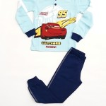 Chlapecké pyžamo Disney WD16499 3 Sv. modrá