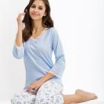 Dámské pyžamo Luna 421 3/4 r S-2XL