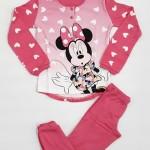 Dětské pyžamo Disney WD22962 3 Fuxia