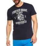 Pánské pyžamo 37121 Justice dark blue