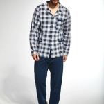 Pánské rozepínané pyžamo Cornette 114/35 M-2XL
